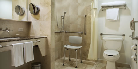 Hotel Fiesta Americana Santa Fe Hotel Luxury room for guests with special needs Room