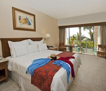 Superior Room, 1 King, Partial Ocean View