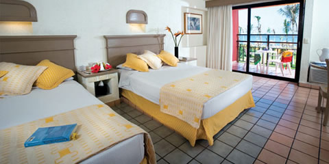 Hotel Fiesta Americana Cozumel All Inclusive Resort Superior Room, 2 double, Garden view Room
