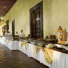 Hotel Fiesta Americana Hacienda Galindo Hotel Dining Carousel