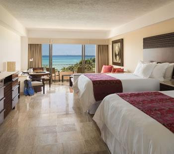 Junior Suite, 2 double, Ocean view
