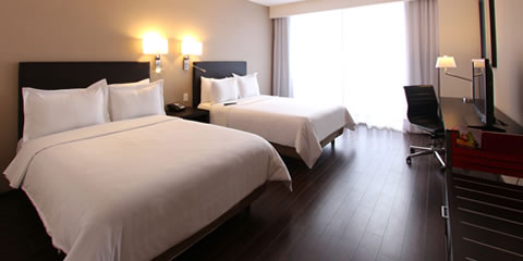 Hotel Fiesta Inn Morelia Executive Room, 2 Double Room