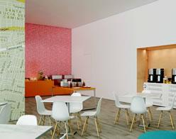Hotel Fiesta Inn Loft Ciudad del Carmen Overview Restaurant Breakfast area